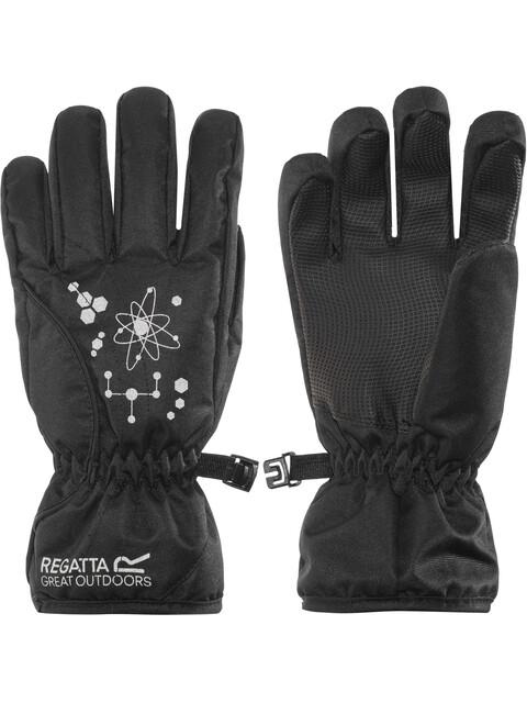 Regatta Arlie II Handschoenen Kinderen zwart